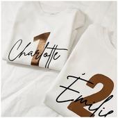 🎈 Des tee-shirts anniversaires pour marquer le coup ! Pour les filles 🧒🏽 et les garçons 👦🏼, pour les cool Babes 👶🏻 et les cool Kids 😎! En coton bio 🌱, ils sont disponibles en body et en tee-shirts sur la même fiche produit sur le site.  . . #heymamagang #teeshirt #cotonbiologique #anniversaire #anniversairebebe #anniversaireenfant #mamancomblee #maman #cadeauenfant #tata #marraine #viedemaman #mamanblogueuse #conceptstore #conceptstoreenfant #mamanblogueuse aixenprovence #marseille #vetementspersonnalises #personnalisation