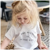 The magic is in you my sweet Loulou ✨ Sunshine 🌞 + hurricane 🌪 = Loulou . . #heymamagang #blondie #louise #magicbaby #vetementbebe #matchymatchy #marquemaman #marqueenfant #marquefrancaise #mumpreneur #viedemaman