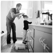 Daddyhood 🤍  . . #heymamagang #papa #daddy #dad #fatherhood #team #dadanddaughter #family